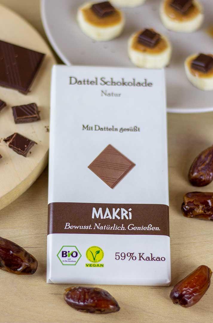 Dattelschokolade Makri