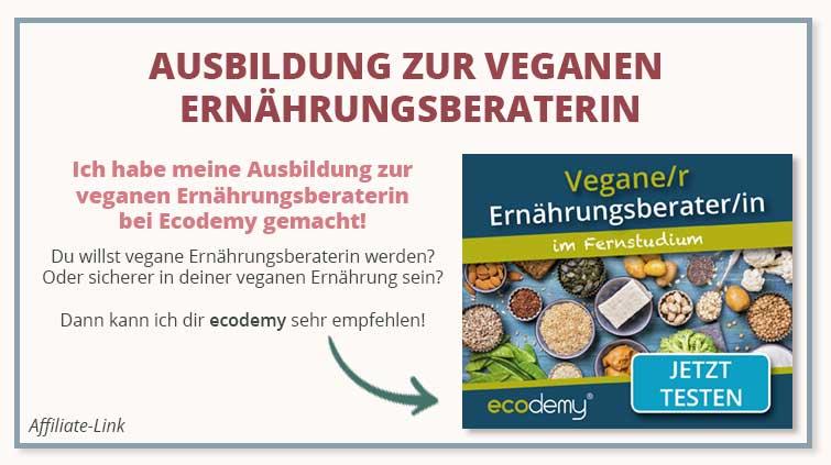 Ausbildung vegane Ernährungsberatung Ecodemy